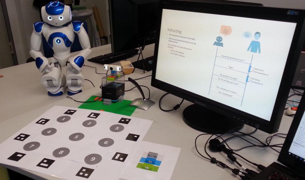 HRI with NAO robot